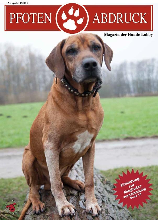 Pfotenabdruck der Hunde-Lobby e.V.